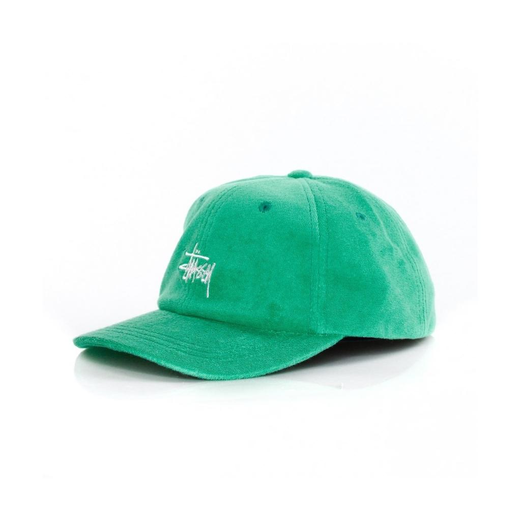 446b5cb8d5e8f VISOR HAT CURVE STOCK TERRY CLOTH LOW PRO CAP GREEN