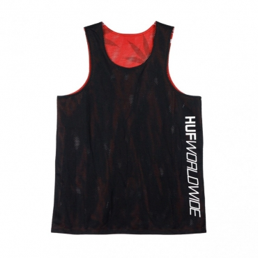 CANOTTA PLANTLIFE REVERSIBLE JERSEY BLACK/RED