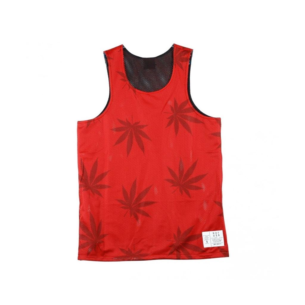 CANOTTA PLANTLIFE REVERSIBLE JERSEY BLACK/RED