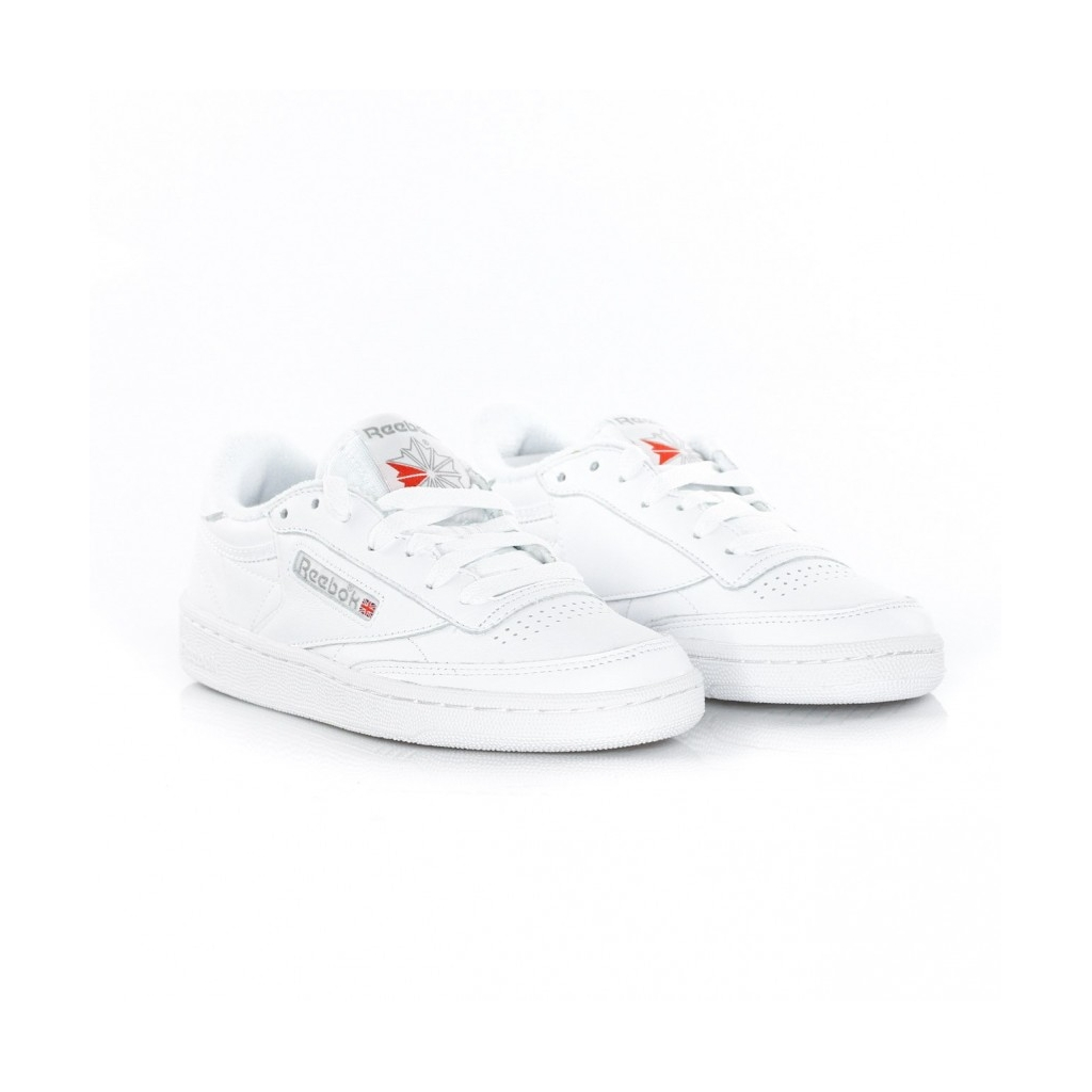 SCARPA BASSA CLUB C 85 ARCHIVE WHITE/CARBON/EXCELENT RED