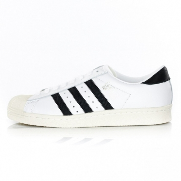 SCARPA BASSA SUPERSTAR OG WHITE/BLACK/WHITE