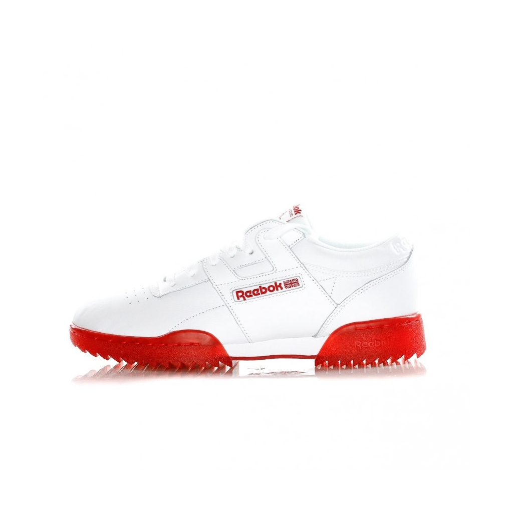 SCARPA BASSA WORKOUT CLEAN RIPPLE ICE WHITE/PRIMAL RED/ICE