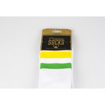 CALZE MID HIGH STRANGER THINGS WHITE/GREEN/YELLOW