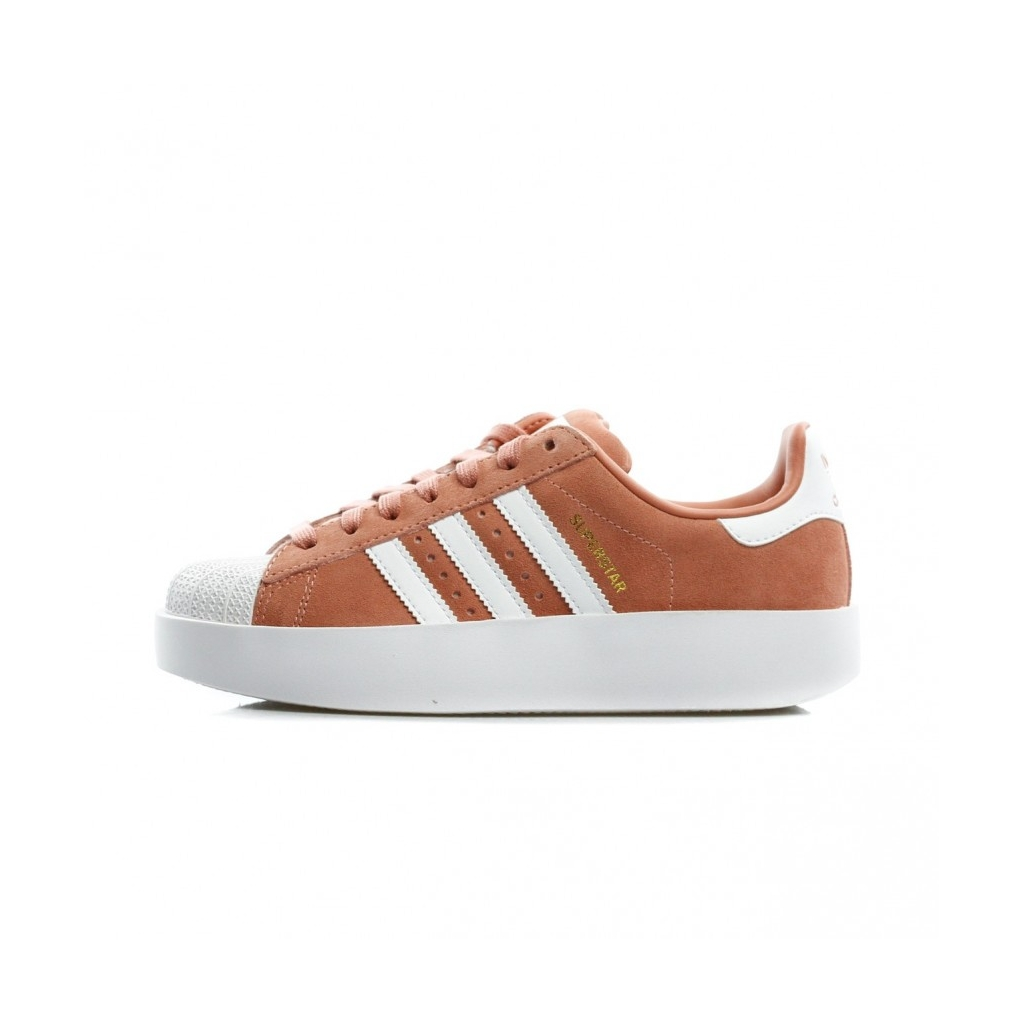 SUPERSTAR LOW SHOE BOLD W ASH PINK WHITE GOLD |