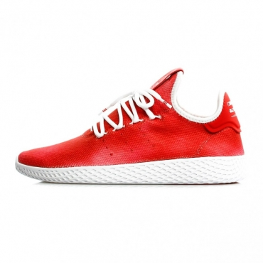SCARPA BASSA PHARRELL WILLIAMS TENNIS HU SCARLET
