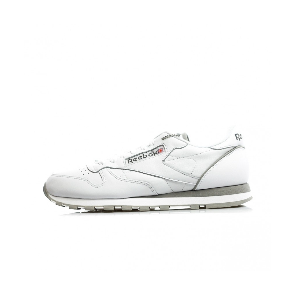 fa16330717579b LOW SHOE CL LEATHER ARCHIVE WHITE   CARBON   RED   GRAY