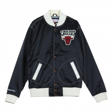 GIUBBOTTO HOMETOWN CHAMPS SATIN JACKET CHIBUL BLACK