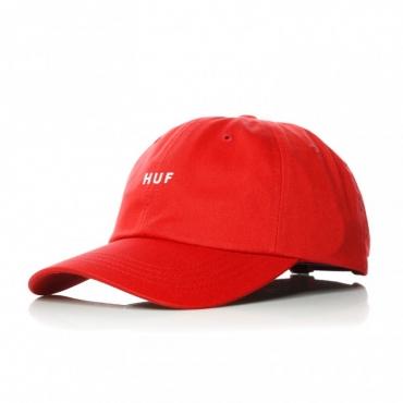 CAPPELLO VISIERA CURVA OG LOGO CURVED VISOR HAT RESORT RED