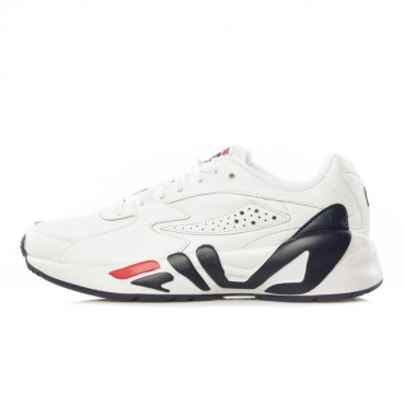 SCARPA BASSA MINDBLOWER WHITE/FILA NAVY/FILA RED