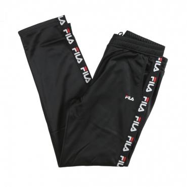 PANTALONE TUTA STRAP TRACK PANTS BLACK