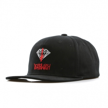 CAPPELLO SNAPBACK DEATHWISH SIGN BLACK