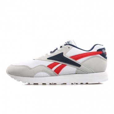 SCARPA BASSA RAPIDE MU SKULL GREY/WHITE/NAVY/RED
