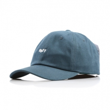 CAPPELLO VISIERA CURVA CUTTY 6 PANEL DARK TEAL