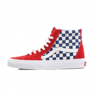 SCARPA ALTA SK8-HI TRUE BLUE/RED CHECKERBOARD