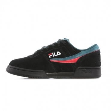 SCARPA BASSA ORIGINAL FITNESS S BLACK/RED/ATLANTIC DEEP