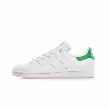 SCARPA BASSA STAN SMITH J WHITE/WHITE/GREEN