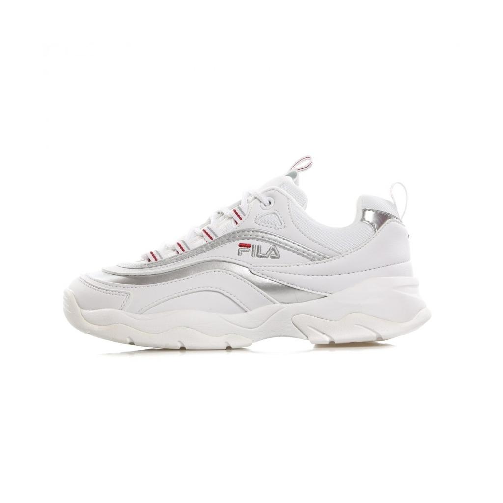 Fila SCARPA BASSA RAY LOW WMN WHITESILVER Sneakers |