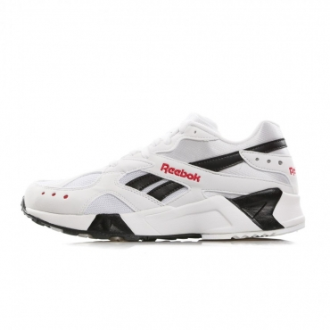 SCARPA BASSA AZTREK WHITE/BLACK/EXCELLENT RED