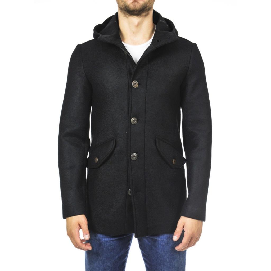 cheap for discount 64533 78ff1 ERO JACKET - Parka Uomo Ero Jacket Cuore Di Panno Cappuccio Lana 3-...