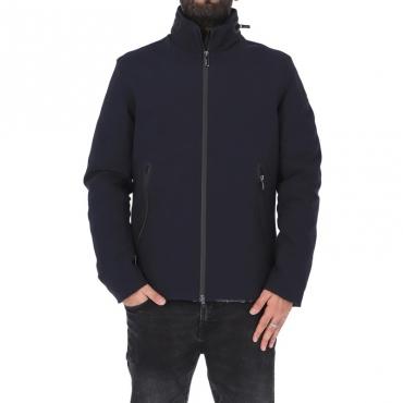 Giubbotto winter jacket BLU NOTTE