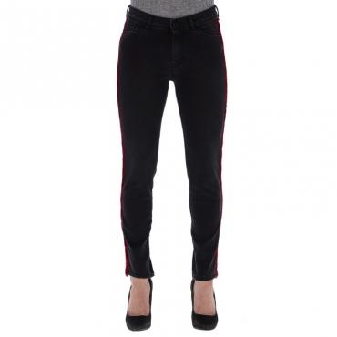 Jeans scuro con banda ANTRACITE