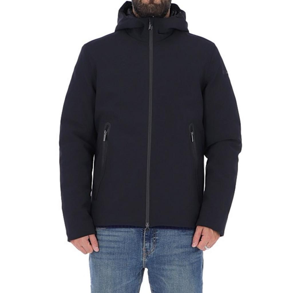 lowest price 8896f 012a7 Roberto Ricci Design Man Jacket Winter Storm Hood 6060 BLUE BLUE |  Bowdoo.com