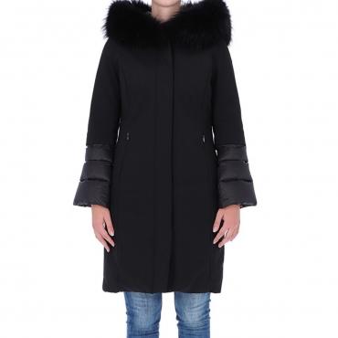 Giacca Roberto Ricci Design Donna Hybrid Zarina Fur 10 NERO