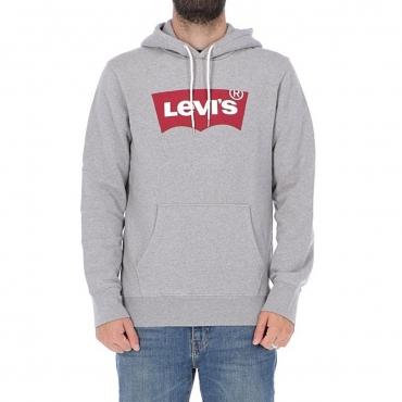 Felpa Levis Uomo Cappuccio Logo 0037 MID FREY