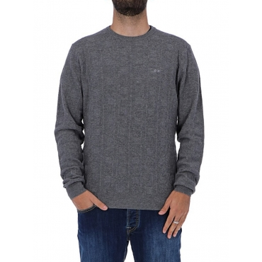maglia lana grigio chiaro UNICO