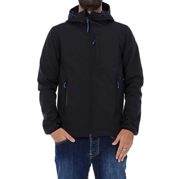 GIACCA NORTH SAILS NERO SOFT SHELL UNICO