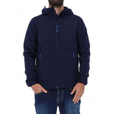 GIACCA NORTH SAILS BLU SOFT SHELL UNICO