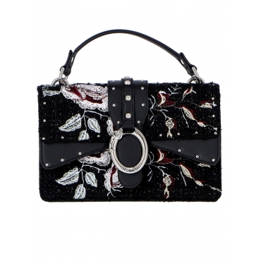 BORSA LIUJO CROSSBODY DARSEN MIXED EMBR FLOWERS UNICO