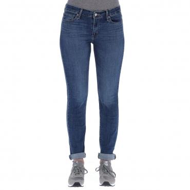 Jeans Levis Donna 712 Slim Under Construction L 32 0141 UNDERCONS