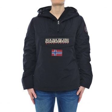 Rainforest Napapijri Donna Thermor Icon Cappuccio 041 BLACK