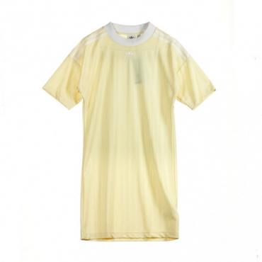 VESTITO TREFOIL DRESS MIST SUN/WHITE