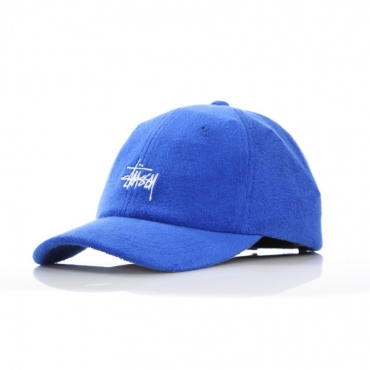 CAPPELLO VISIERA CURVA STOCK TERRY CLOTH LOW PRO CAP ROYAL