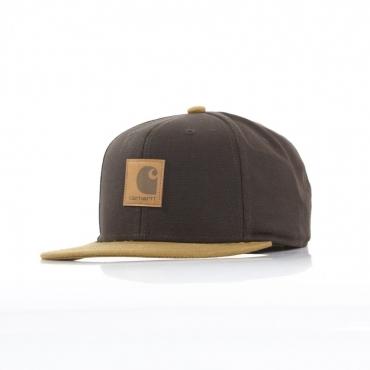 CAPPELLO SNAPBACK LOGO CAP BI-COLORED TOBACCO/HAMILTON BROWN
