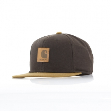 CAPPELLO SNAPBACK LOGO CAP BI-COLORED TOBACCO/HAMILTON BROWN