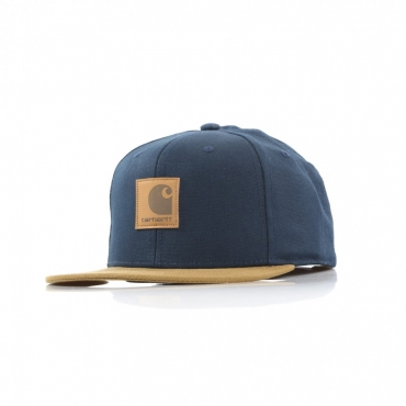 CAPPELLO SNAPBACK LOGO CAP BI-COLORED DARK NAVY/HAMILTON BROWN
