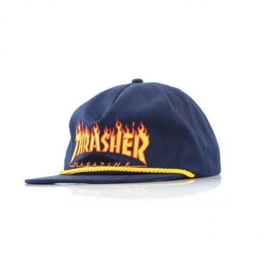 CAPPELLO SNAPBACK FLAME ROPE NAVY