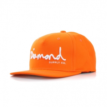 CAPPELLO SNAPBACK OG SCRIPT ORANGE