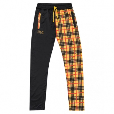 FLEECE PANTS ZIP X SFERA EBBASTA SCOTTISH YELLOW