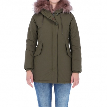 Giacca Donna Canadian Classic Sonora Real Fur ARMY