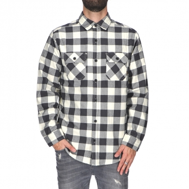 CAMICIA BRIGHTON CHECK TONSURTON BURTON  CANVAS HTR BUFFALO