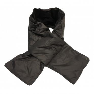 CINELLI sciarpa unisex moro 100 nylon imbottitura 100 piumino doca MADE IN ITALY UNICO