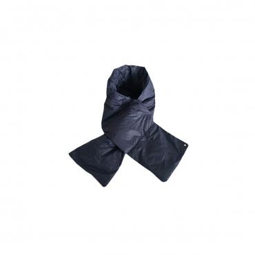CINELLI sciarpa unisex blu 100 nylon imbottitura 100 piumino doca MADE IN ITALY UNICO