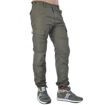 Pantalone uomo Carhartt modello cargo verde militare
