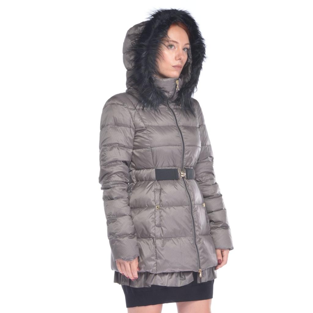 uk availability 45974 a42b3 Patrizia Pepe woman down jacket with beige micro-pattern NR-BEIGE |  Bowdoo.com