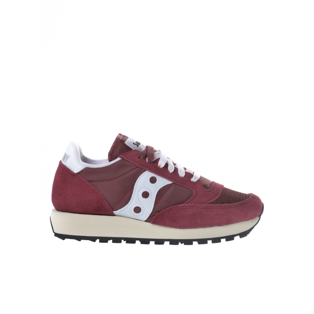 wholesale dealer 8ccf3 9cdab Sneaker woman Saucony Jazz Original Vintage bordeaux VINO-BC | Bowdoo.com