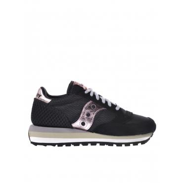 Sneaker donna Saucony Shadow Original nero NERO-ROSA